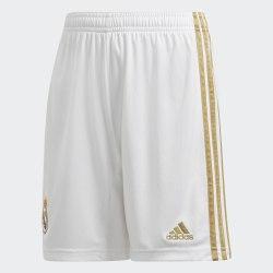 Детские футбольные шорты REAL H SHO Y WHITE Adidas DX8840