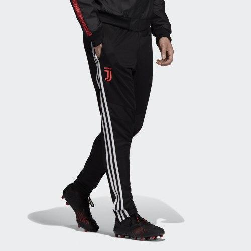Мужские штаны JUVE TR PNT BLACK|WHIT Adidas DX9129