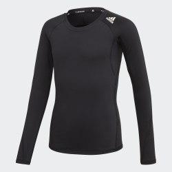 Детский лонгслив YG ASK SPR LS W BLACK|WHIT Adidas ED6291