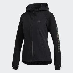 Женская куртка для бега RUNR GUARD JKT BLACK Adidas ED7384
