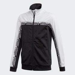 Детская олимпийка TRACKTOP BLACK|WHIT Adidas FM4393