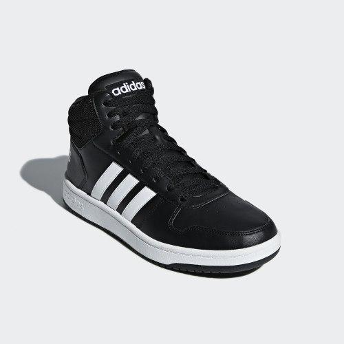Высокие кроссовки мужские HOOPS 2.0 MID CBLACK|FTW Adidas BB7207