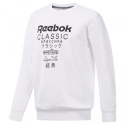 Мужской реглан GP UNISEX FLEECE CR WHITE Reebok Classic DJ1892