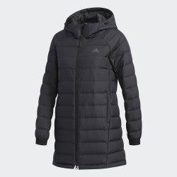 Женская удлиненная куртка W CLIMAWARM HOO BLACK|BLAC Adidas DM1959 (последний размер)