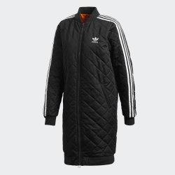 Женская удлиненная куртка LONG BOMBER BLACK Adidas DH4592 (последний размер)