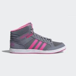 Полуботинки детские HOOPS MID K GREY|SOPIN Adidas AQ1576