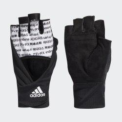 Перчатки для фитнеса TRN GLOVE GRA W WHITE|BLAC Adidas FK8848
