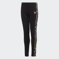 Детские леггинсы LEGGINGS SOLID BLACK|MULT Adidas EJ5624