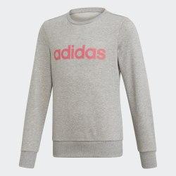 Детский реглан YG E Lin Sweat MGREYH|REA Adidas EH6156