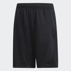 Детские шорты YB TR EQ KN SH BLACK|WHIT Adidas DV2918