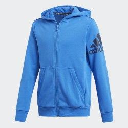 Детская толстовка YB MH BOS FZ BLUE|CONAV Adidas DV0807