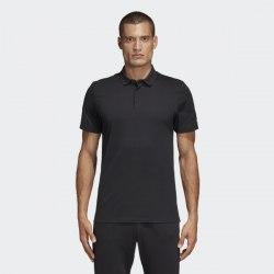 Мужская футболка поло MH PLAIN Polo BLACK Adidas DT9911