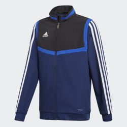 Детский футбольный реглан TIRO19 PRE JKTY DKBLUE|BLA Adidas DT5269