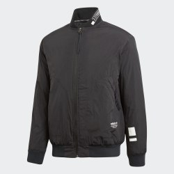 Мужская утепленная олимпийка NMD PADDED TT BLACK Adidas CE1594 (последний размер)