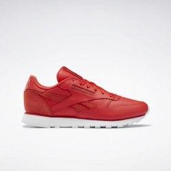 Женские кроссовки CL LTHR RADRED RED Reebok EF3255
