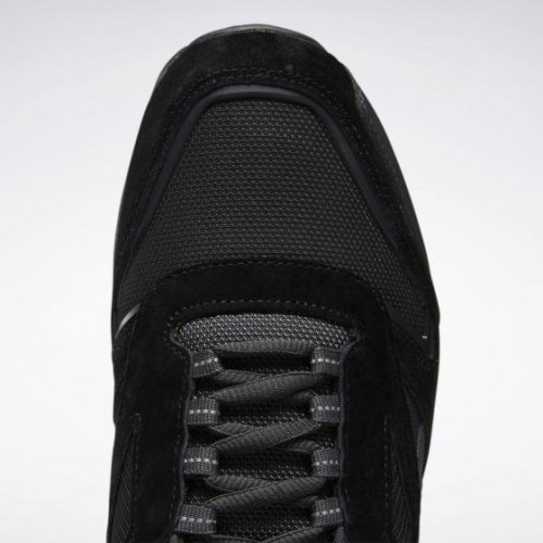 Мужские кроссовки CL LEATHER TRAIL BLACK|TRGR Reebok Classic EF3552