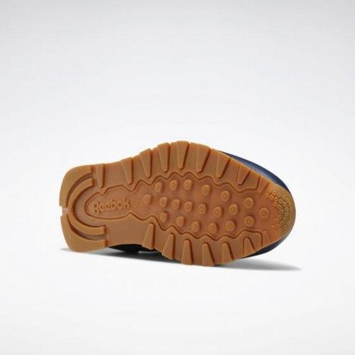 Мужские кроссовки CL LEATHER MU CONAVY|WHI Reebok Classic EG6424