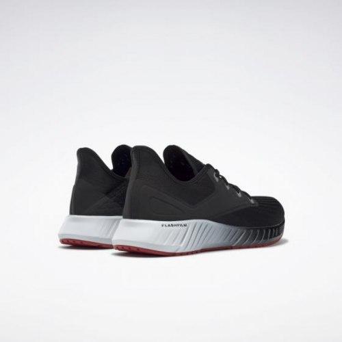 Мужские кроссовки для бега REEBOK FLASHFILM 2. BLACK|WHIT Reebok EG8508