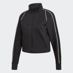 Женская укороченная куртка W St Tracktop BLACK Adidas FP8074