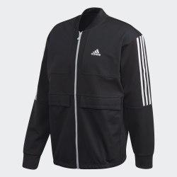 Мужская куртка бомбер TRICOT TTOP M BLACK Adidas GG6837
