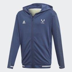 Детская олимпийка JB M FZ HOODIE TECIND|WHI Adidas FM1726