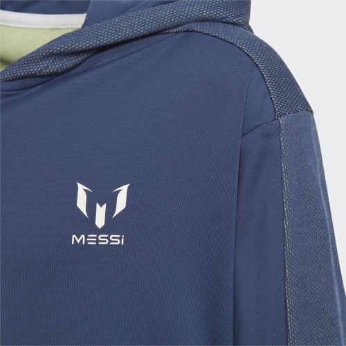 Детская олимпийка JB M FZ HOODIE TECIND WHI Adidas FM1726