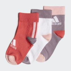 Комплект носков детских (3 пары) LK ANKLE S 3PP CORPNK|WHI Adidas FN0995