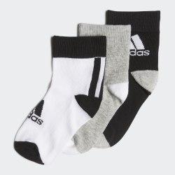 Комплект носков детских (3 пары) LK ANKLE S 3PP BLACK|MGRE Adidas FN0997