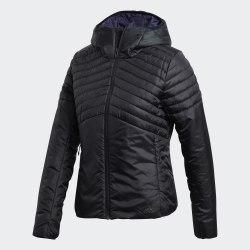 Женская утепленная куртка W CYTINS JACKET BLACK Adidas BQ1954
