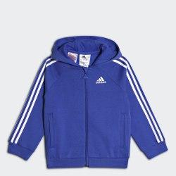 Детская толстовка I FAV LOG FZH HIRBLU|WHI Adidas CF7437