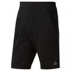 Мужские шорты WOR KN SHORT - MEL BLACK Reebok DU2210