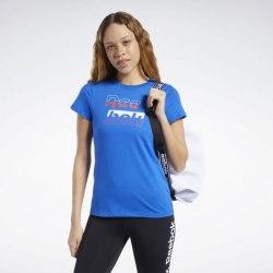 Женская футболка TE Graphic Tee Reeb HUMBLU Reebok FK3603