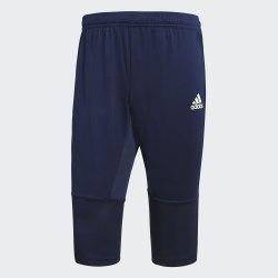 Мужские тренировочные бриджи CON18 3|4 PNT DKBLUE|WHI Adidas CV8240 (последний размер)