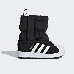 Детские зимние ботинки SST WINT3R CF I CBLACK|FTW Adidas B22502