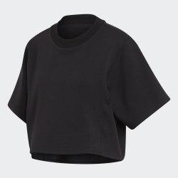 Женская укороченная футболка LOOSE TEE WL BLACK Adidas DX9244 (последний размер)