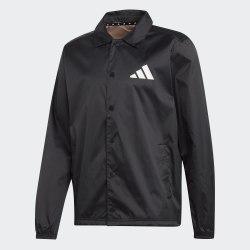 Мужская куртка коуч TP Coaches Jkt BLACK Adidas DX9326 (последний размер)