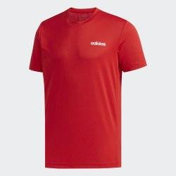 Мужская футболка M D2M PL TEE SCARLE|WHI Adidas FL0290