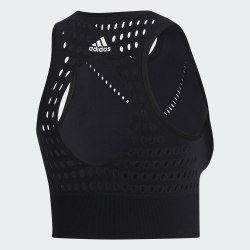 Женский топ WARPKNIT CROP BLACK Adidas FI9059