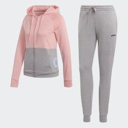 Женский спортивный костюм WTS Lin FT Hood GLOPNK|MGR Adidas FM6845