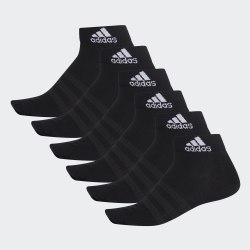 Комплект носков (6 пар)LIGHT ANK 6PP BLACK|BLAC Adidas DZ9399