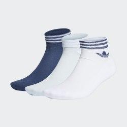 Комплект носков (3 пары) TREF ANK SCK HC WHITE|SKYT Adidas FM0645