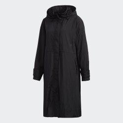 Женский плащ W STL LONG JKT BLACK Adidas FM5184