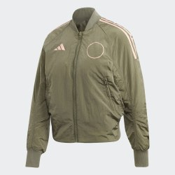 Женская куртка бомбер W VRCT JK PAD LEGGRN Adidas FN1516