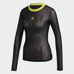 Женский лонгслив SHEER LS BLACK Adidas FL4145