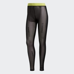 Женские леггинсы SHEER TIGHT BLACK Adidas FL4155