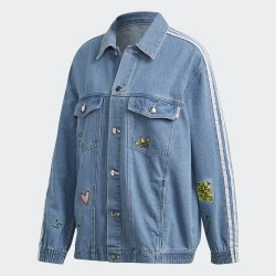 Женская джинсовая куртка DENIM JACKET CLESKY Adidas FL4147