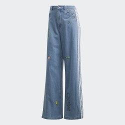 Женские джинсы DENIM TRACKPANT CLESKY Adidas FL4153