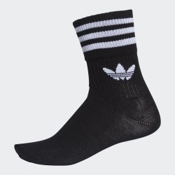 Носки MID CUT CRW SCK BLACK|WHIT Adidas DX9092