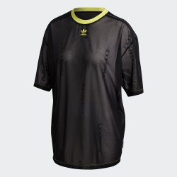 Женская футболка SHEER T-SHIRT BLACK Adidas FL4151