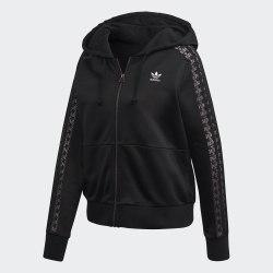 Женская толстовка LACE ZIP HOODIE BLACK Adidas FM1749